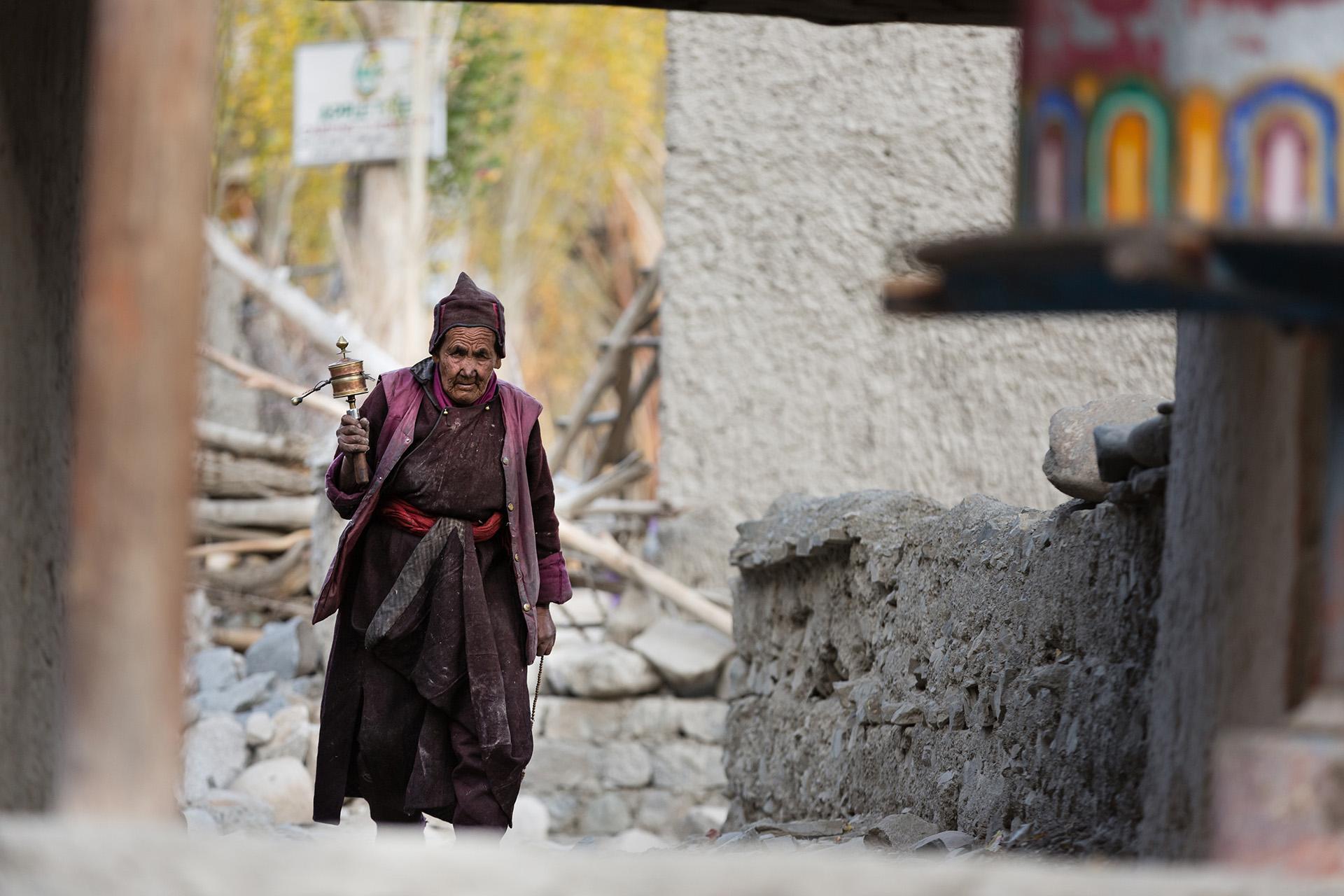 pray in Little Tibet