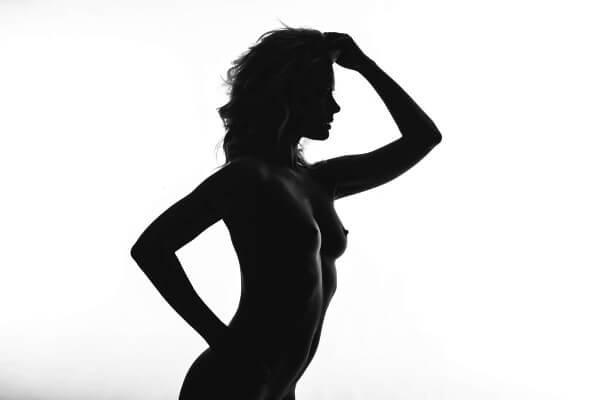 Művészi portré kép készítés - akt sziluett- Hodos Alex - pixLX